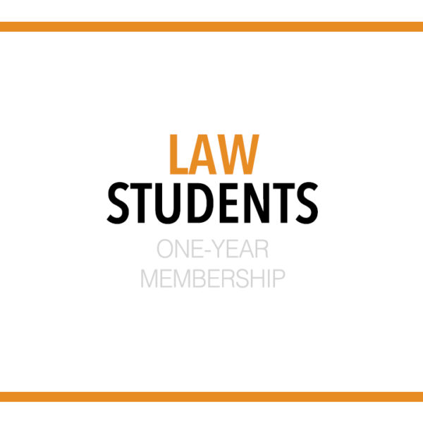 Law Student - One-Year Membership